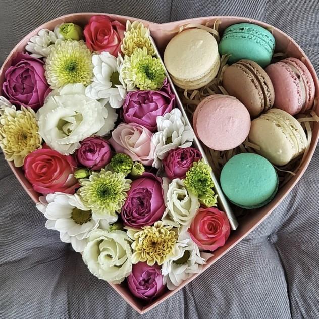 Box «сладкое сердце»