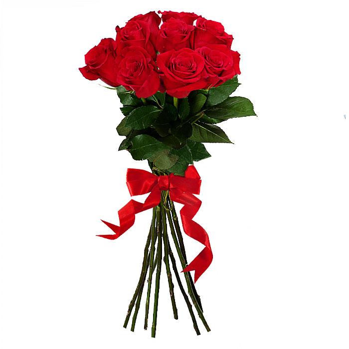 Букет из 9 красных роз